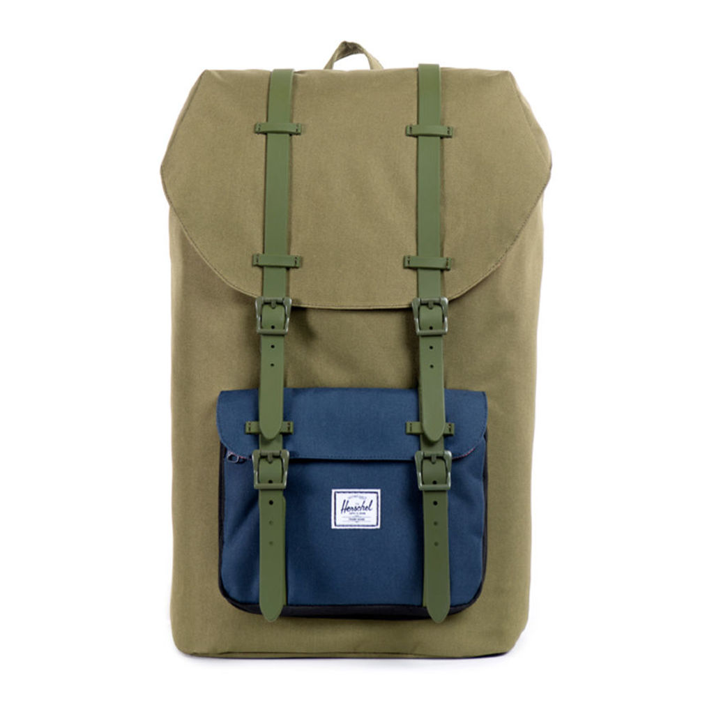 Army Navy Black Little America Backpack
