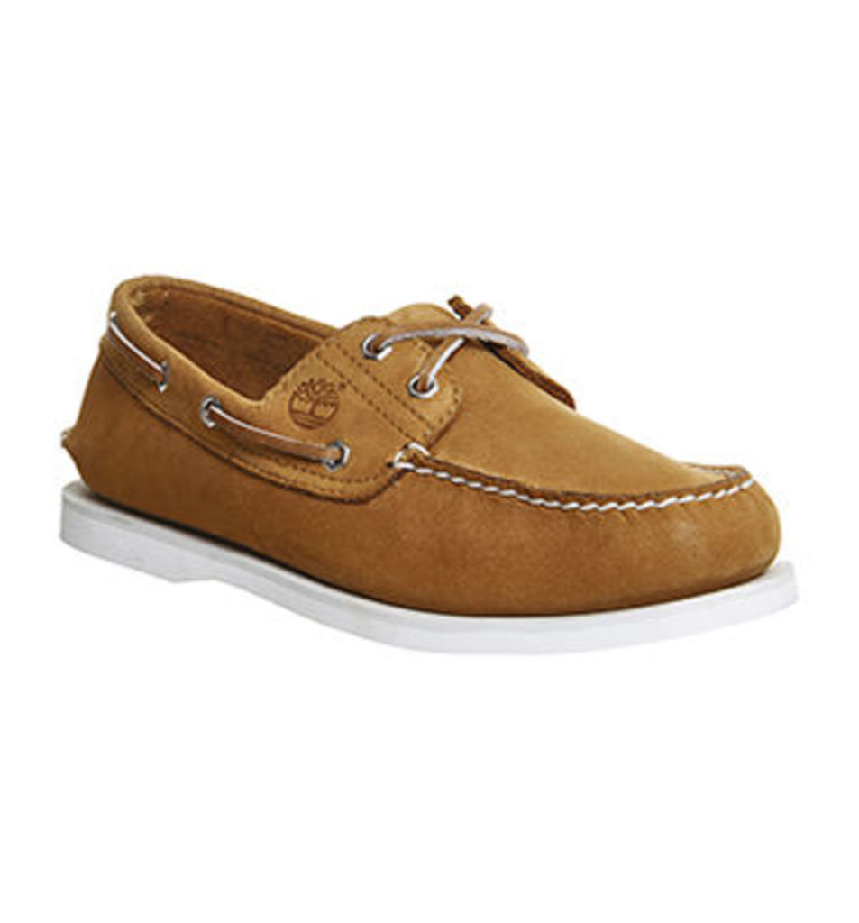 Timberland New Boat Shoe WHEAT NUBUCK EXCLUSIVE