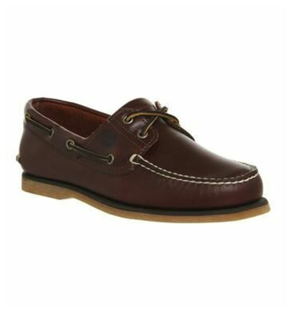 Timberland New Boat Shoe ROOT BEER LEATHER