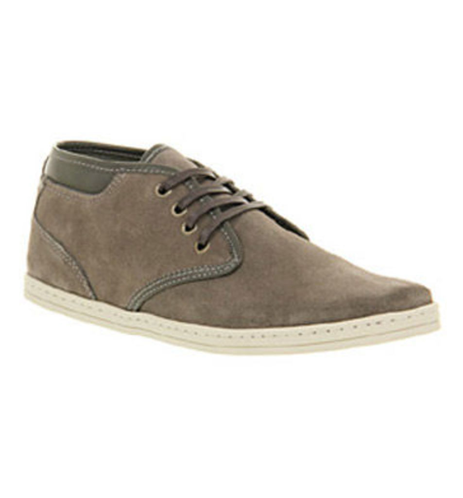 Ask the Missus Jeremy Chukka GREY SUEDE