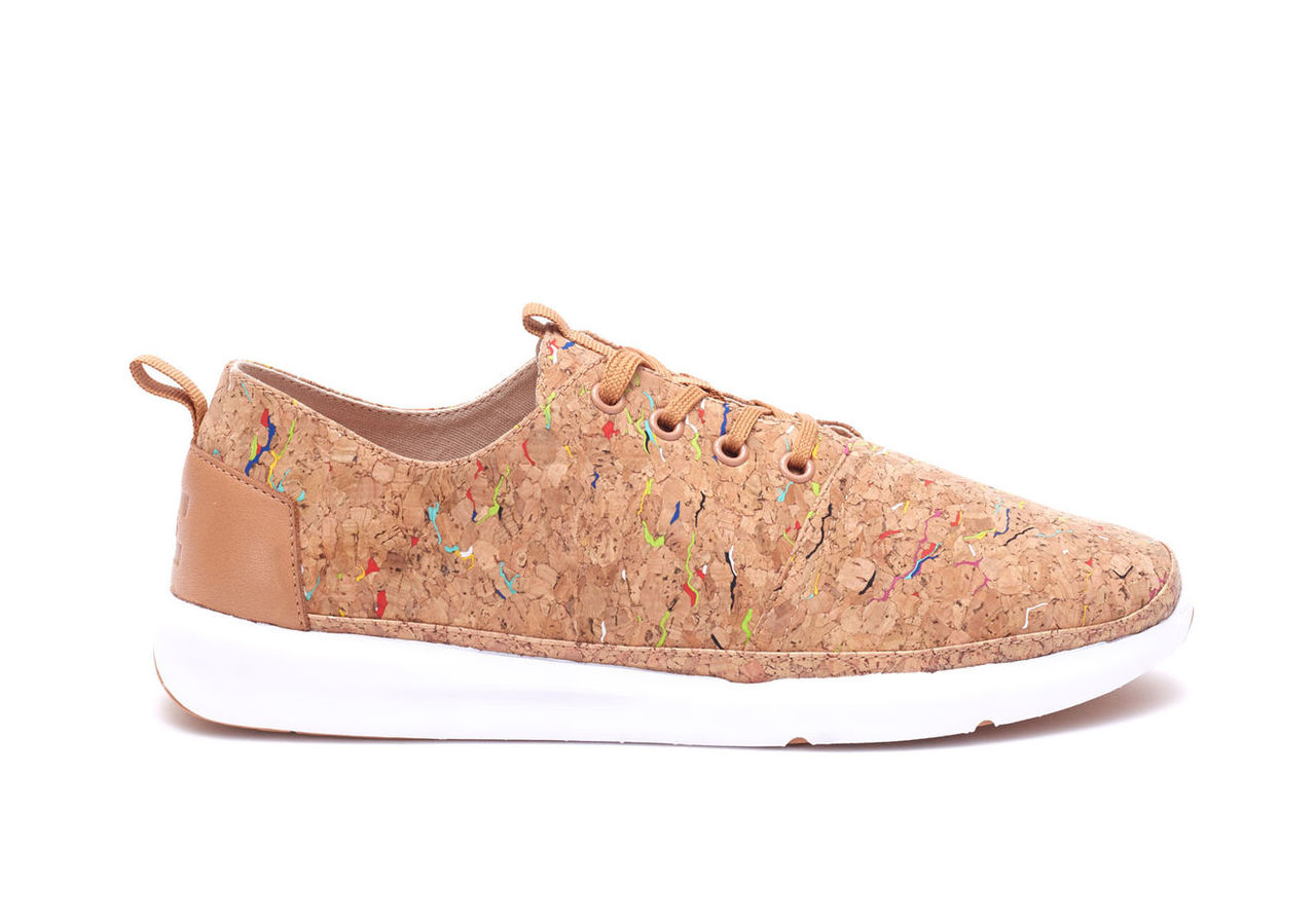 Multi Painted Cork Men's Del Rey Sneakers