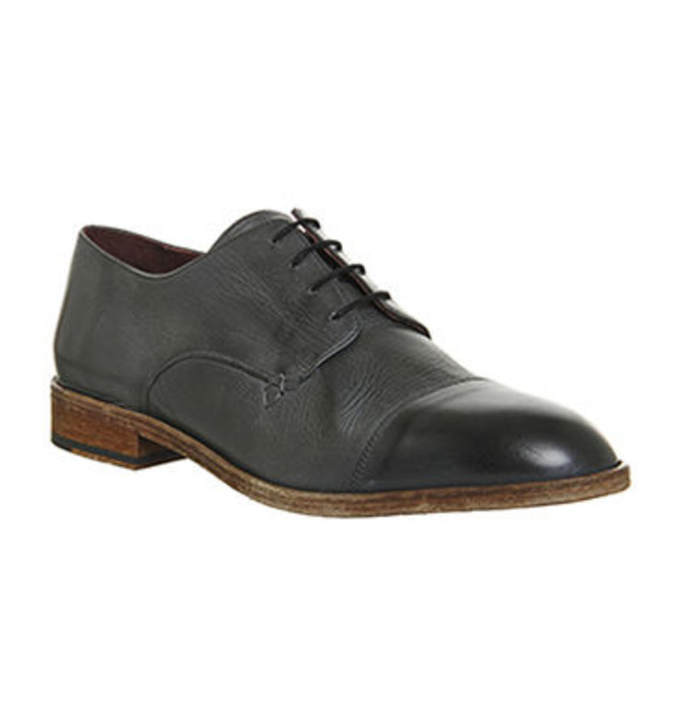 Poste Diogo Toecap WASHED GREY LEATHER