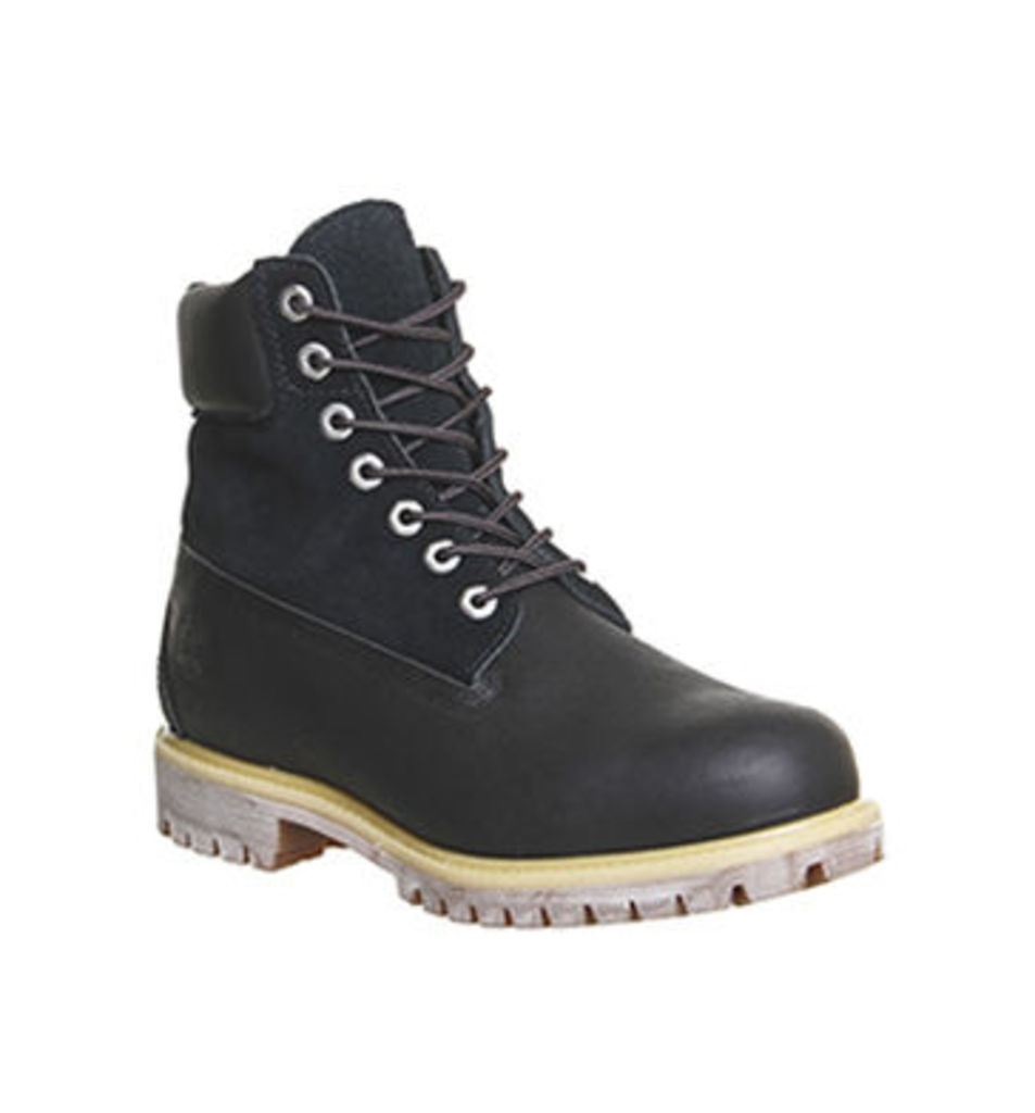 Timberland 6 In Buck Boot BLACK LEATHER SUEDE,Tan Brown,Black,Natural,Blue,Grey,Red,Green,Brown