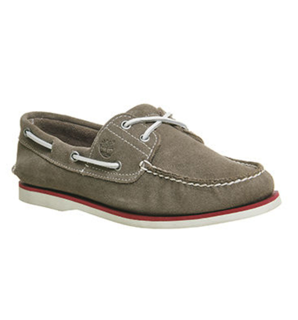 Timberland New Boat Shoe GREY SUEDE