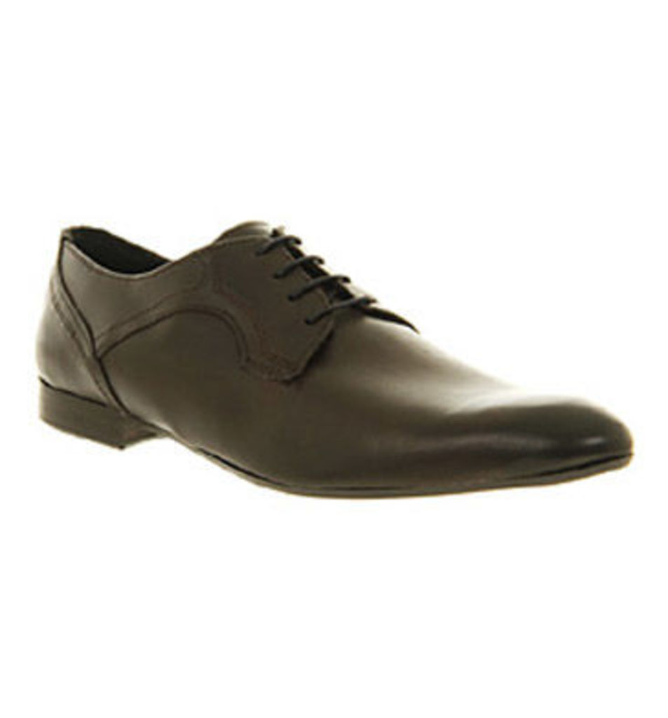 Ask the Missus Oliver Lace BROWN LEATHER