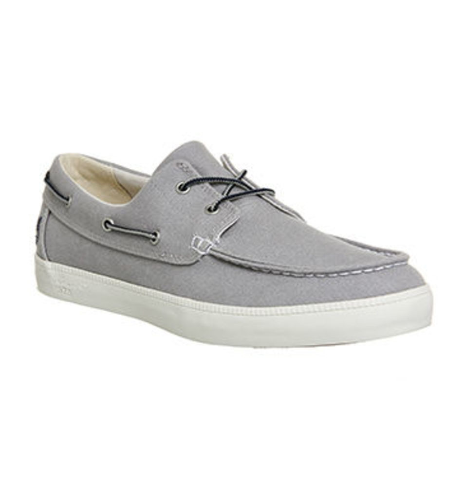 Timberland Newport Bay 2 Eye Boat Oxford SLEET WASHED CANVAS
