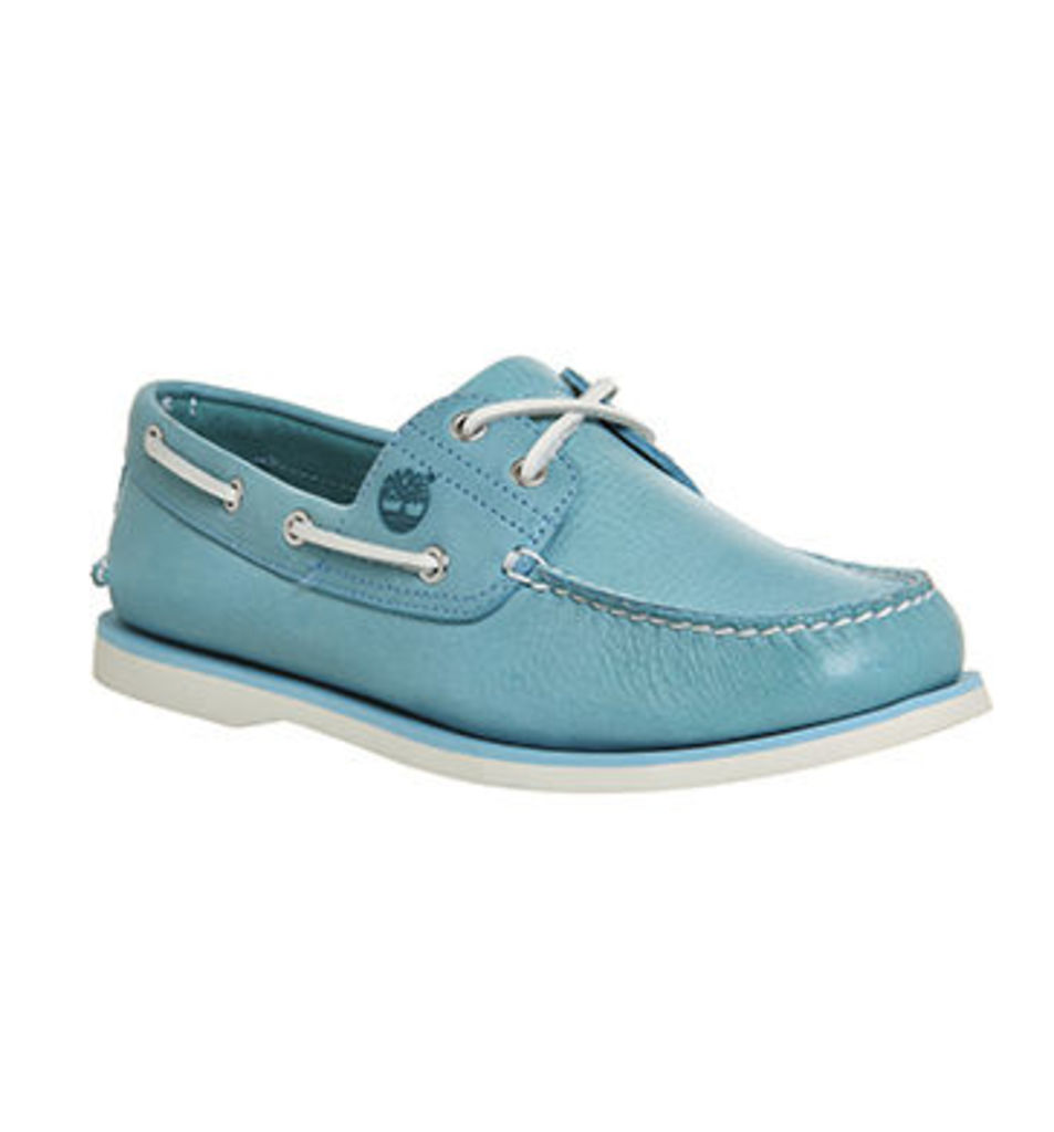 Timberland New Boat Shoe MAUI BLUE LEATHER