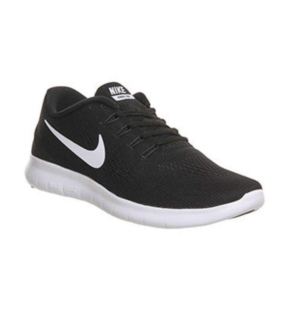 Nike Free Run M BLACK WHITE ANTHRACITE