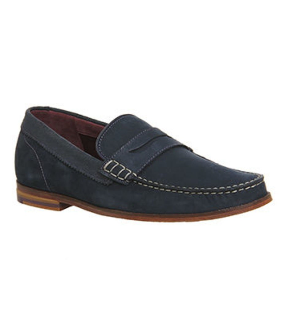 Ted Baker Miicke 2 Loafer DARK BLUE NUBUCK