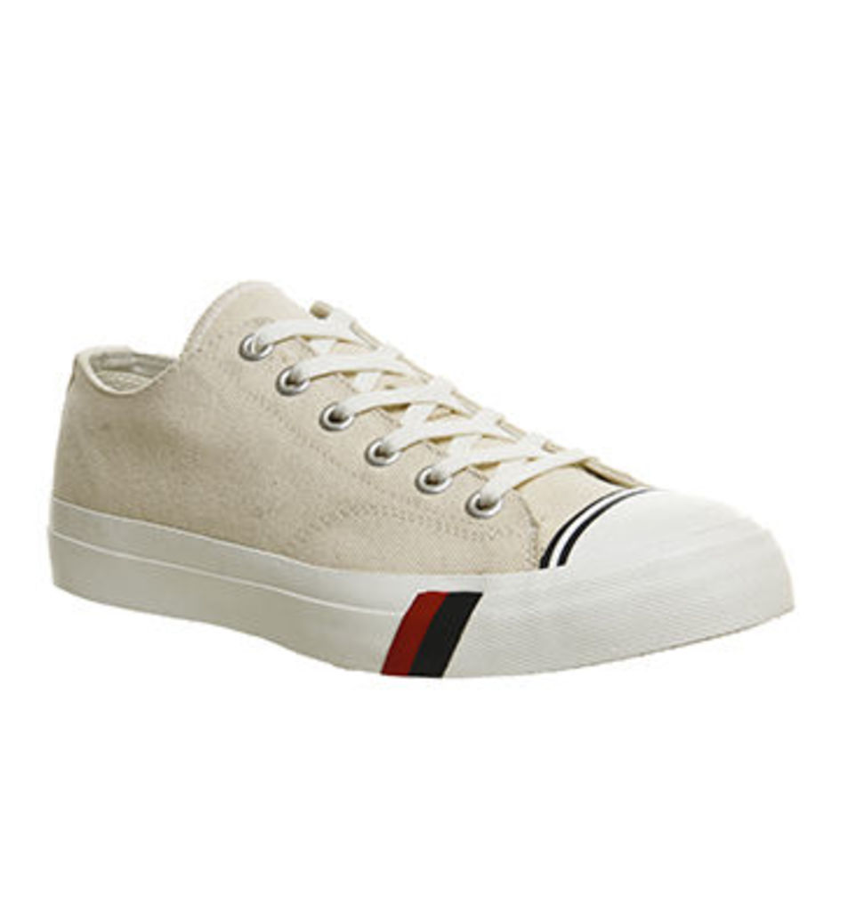 Pro keds Royal Lo UNBLEACHED CREAM,Cream,White / Green