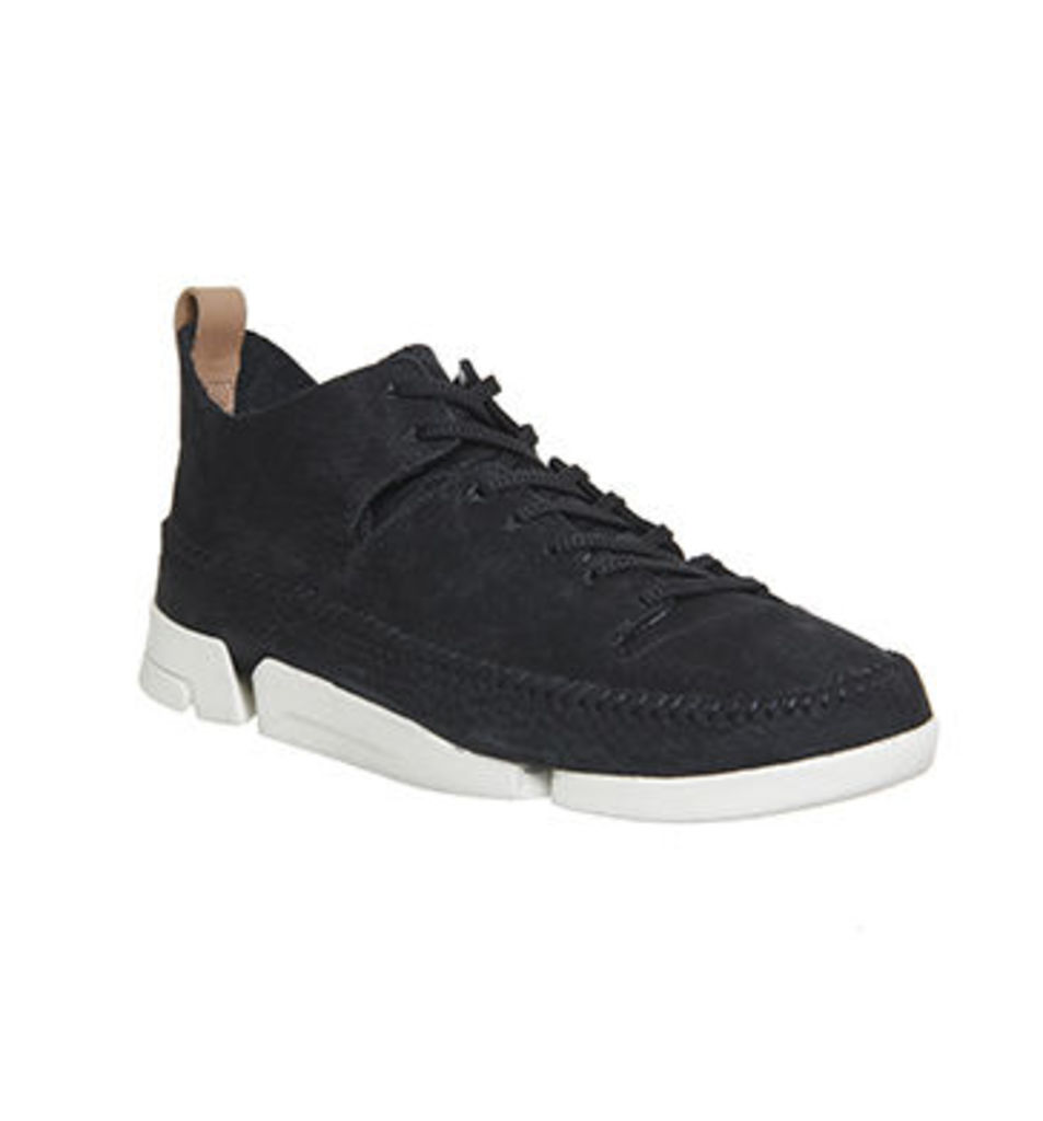 Clarks Originals Trigenic Flex Trainer BLACK SUEDE