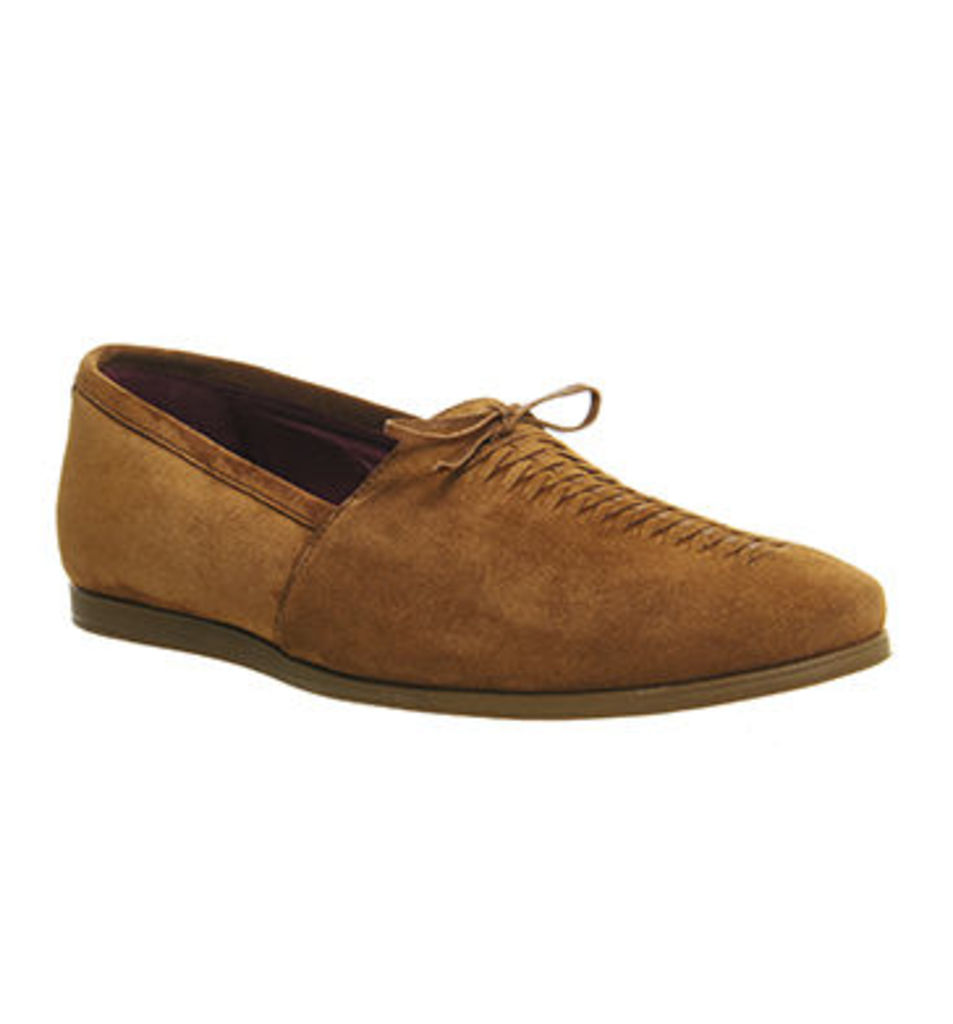 Poste Diangelo Lace Loafer RUST SUEDE