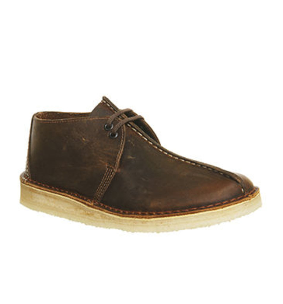 Clarks Originals Desert Trek BEESWAX LEATHER