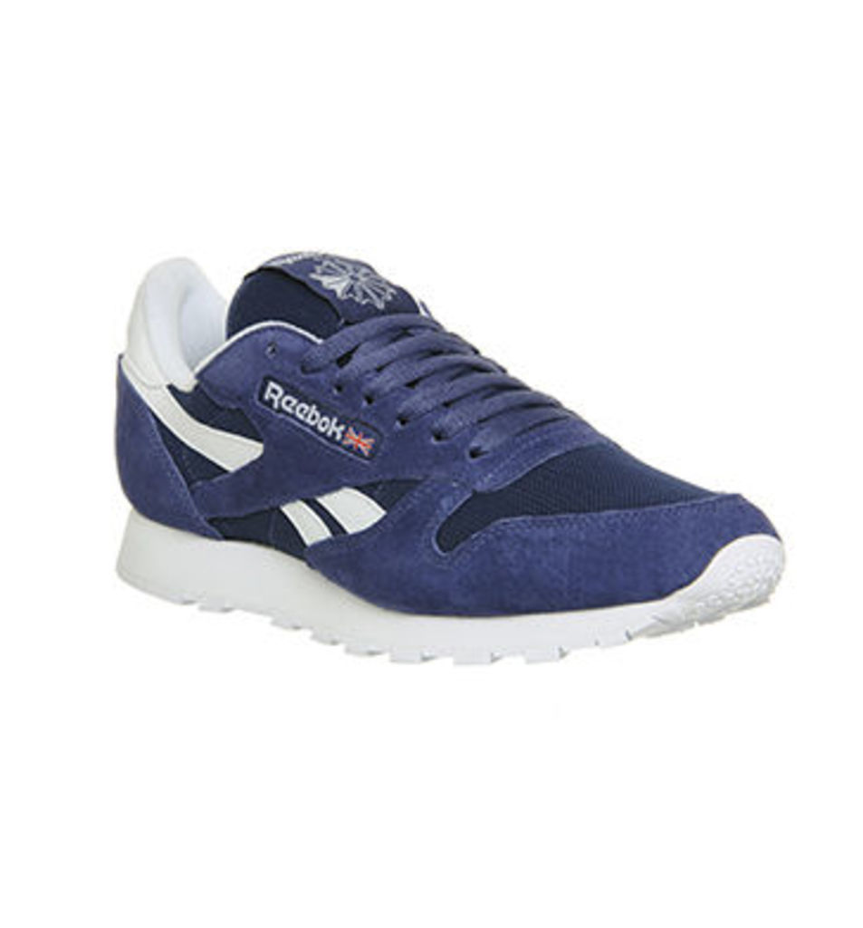 Reebok Cl Leather MIDNIGHT BLUE WHITE IS