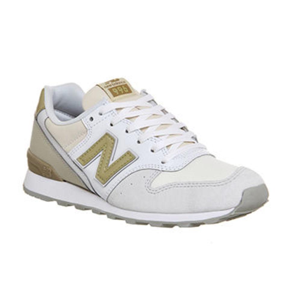 New Balance Wl996 WHITE GOLD