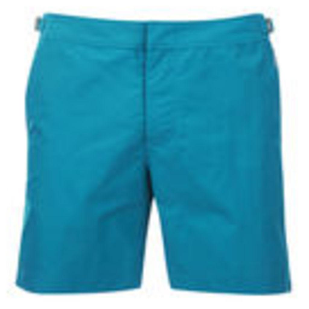Orlebar Brown Men's Bulldog Swim Shorts - Dark Atoll - W30 - Blue