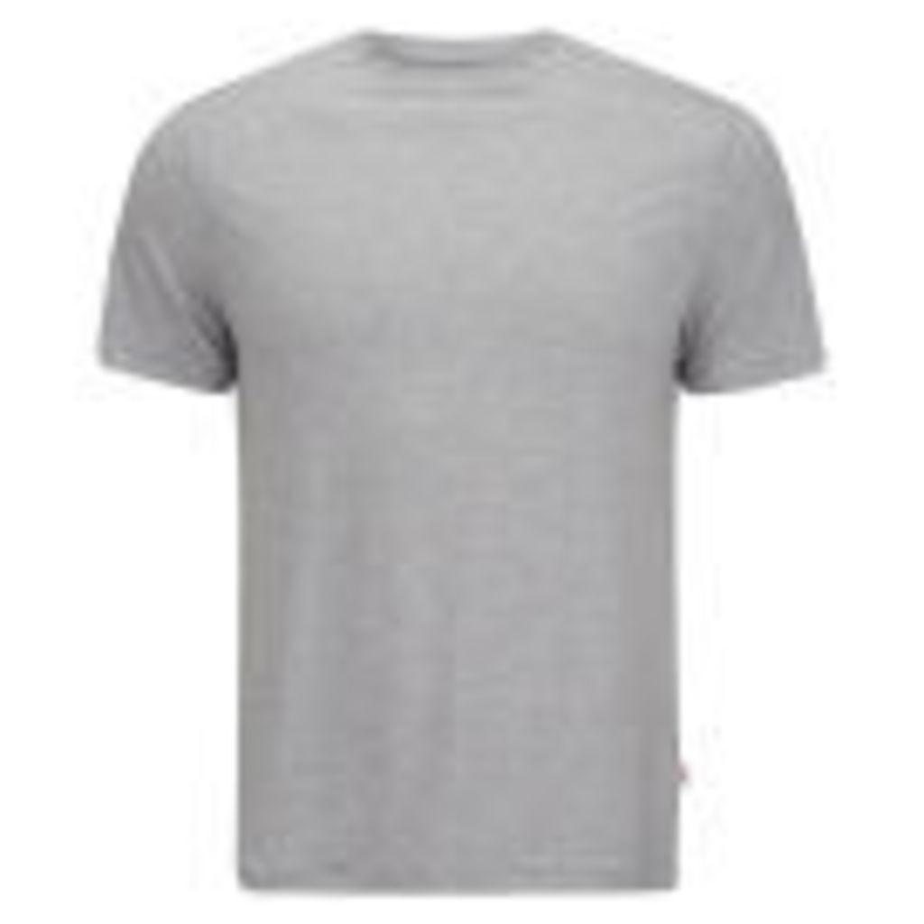 Derek Rose Men's Ethan 1 T-Shirt - Silver - S - Grey