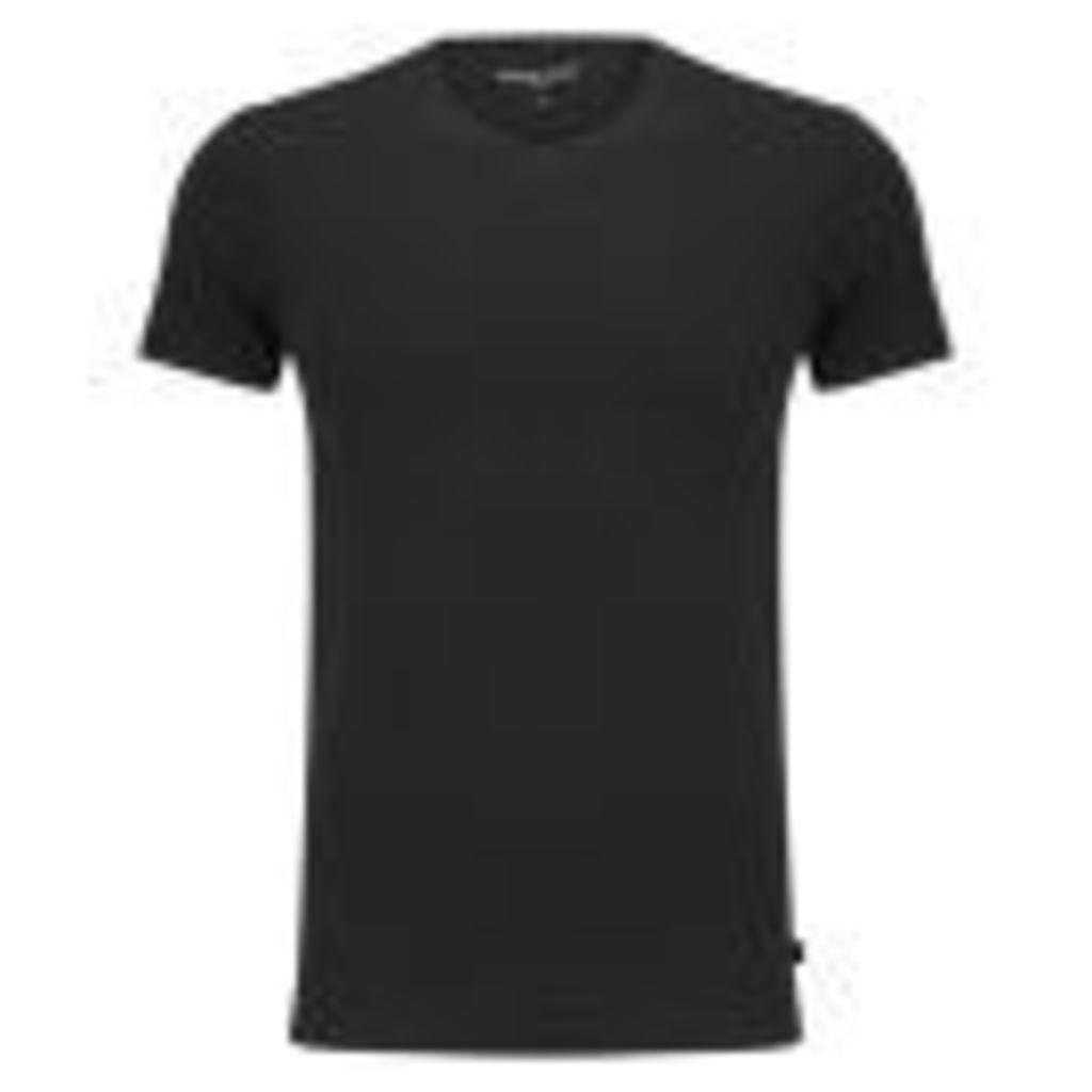 Derek Rose Men's Jack 1 Crew Neck T-Shirt - Black - L