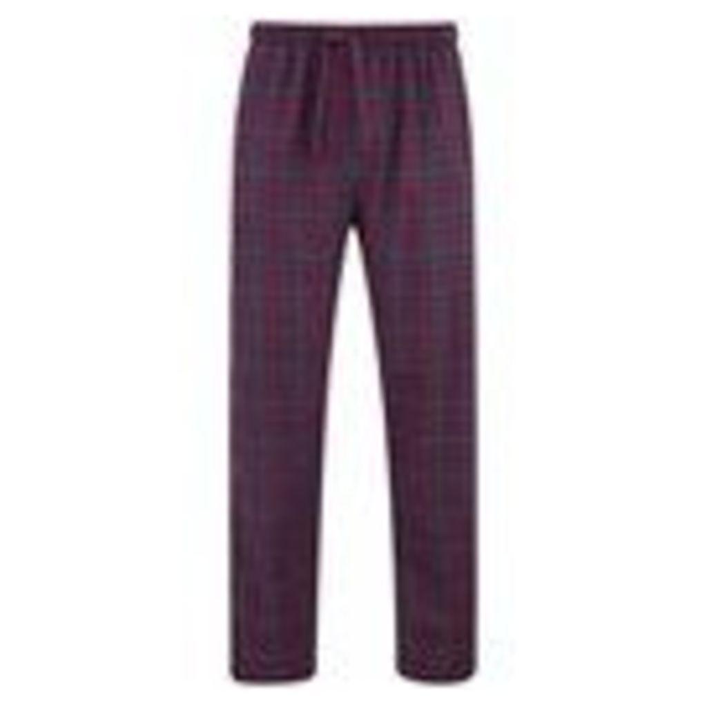 Derek Rose Men's Amelia 12 Trousers - Ruby - L