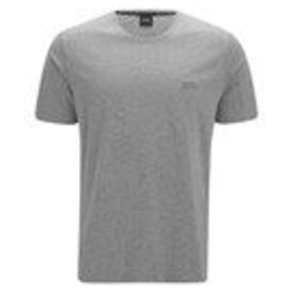 BOSS Hugo Boss Men's Crew Neck Small Logo T-Shirt - Grey - S