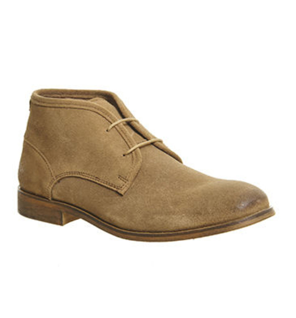 Ask the Missus Digital Chukka BEIGE SUEDE
