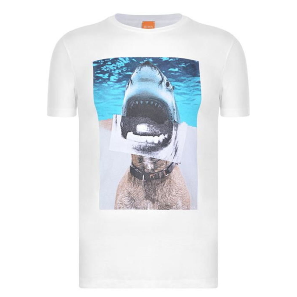 BOSS ORANGE Treyno Shark T Shirt