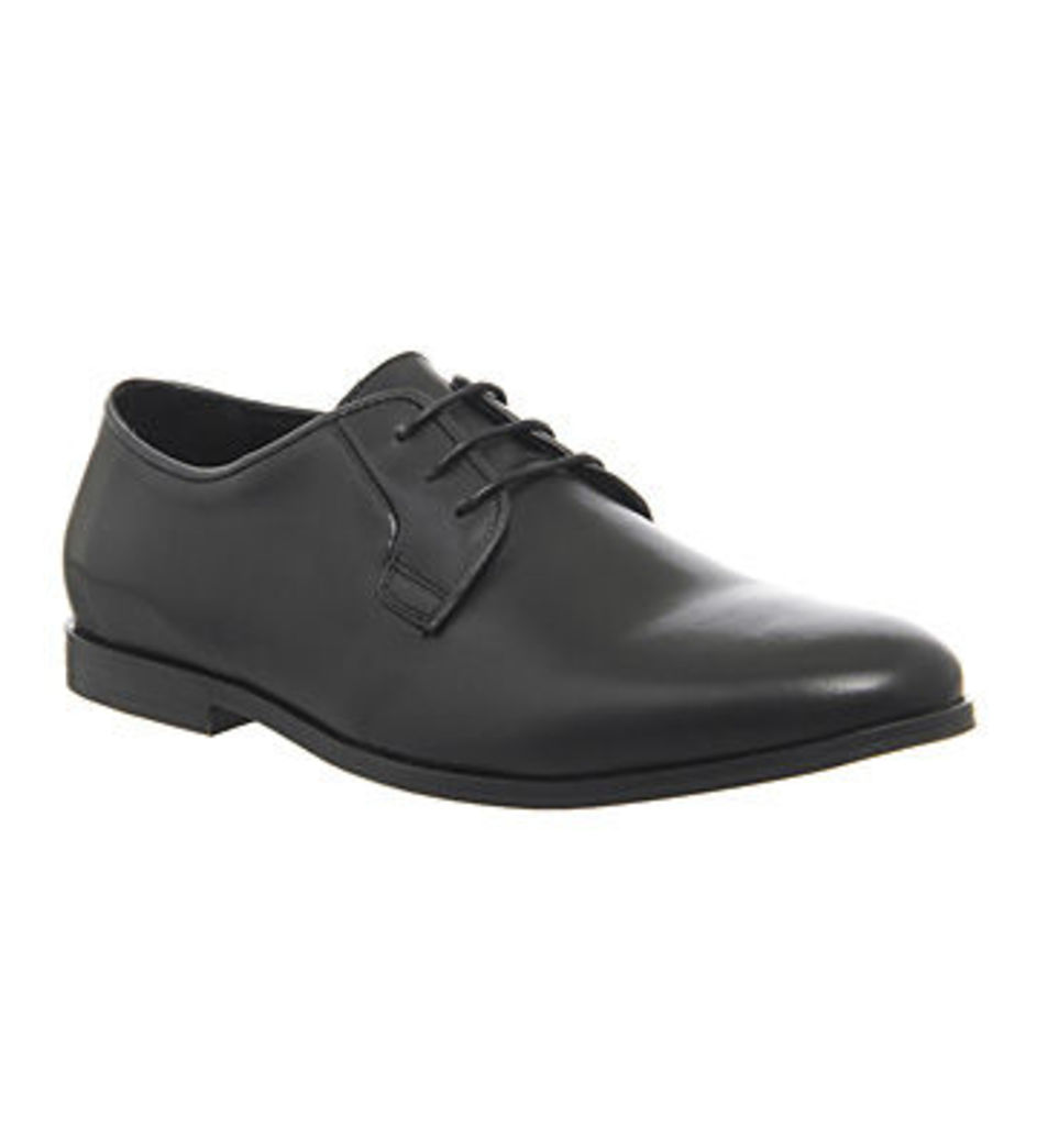 Ask the Missus Backchat Plain Toe BLACK LEATHER