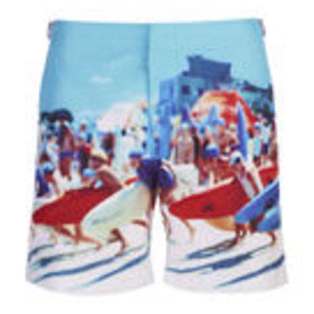 Orlebar Brown Men's Bulldog Hulton Getty Swim Shorts - Happy Sandboys - W32