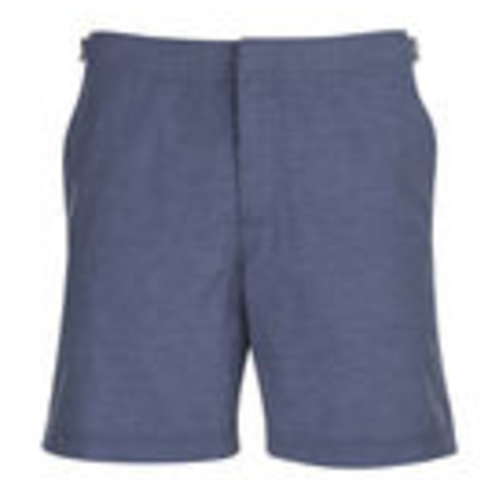 Orlebar Brown Bulldog Chambray Swim Shorts - Navy - W30