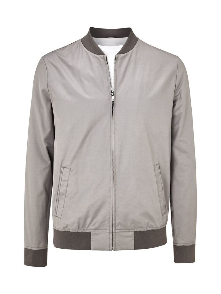 Men's Burton Lightweight bomber jacket, Grey