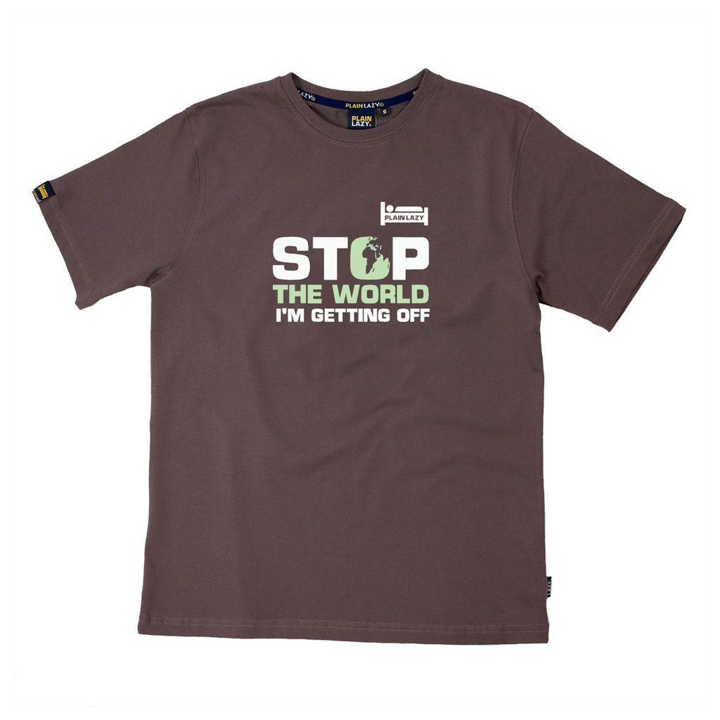 STOP THE WORLD I'M GETTING OFF T SHIRT