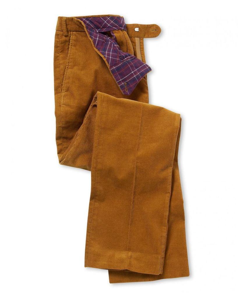 Mustard Corduroy Trousers 42