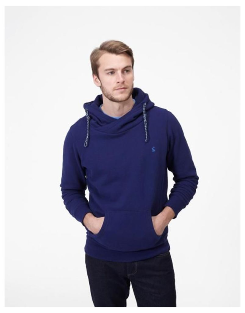 Blue Harmon Hooded Sweatshirt  Size L   Joules UK