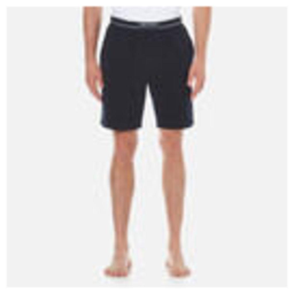 BOSS Hugo Boss Men's Cotton Lounge Shorts - Navy - L - Navy
