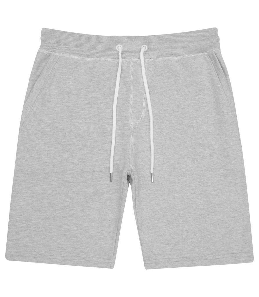 REISS Cedar - Mens Jersey Shorts in Grey