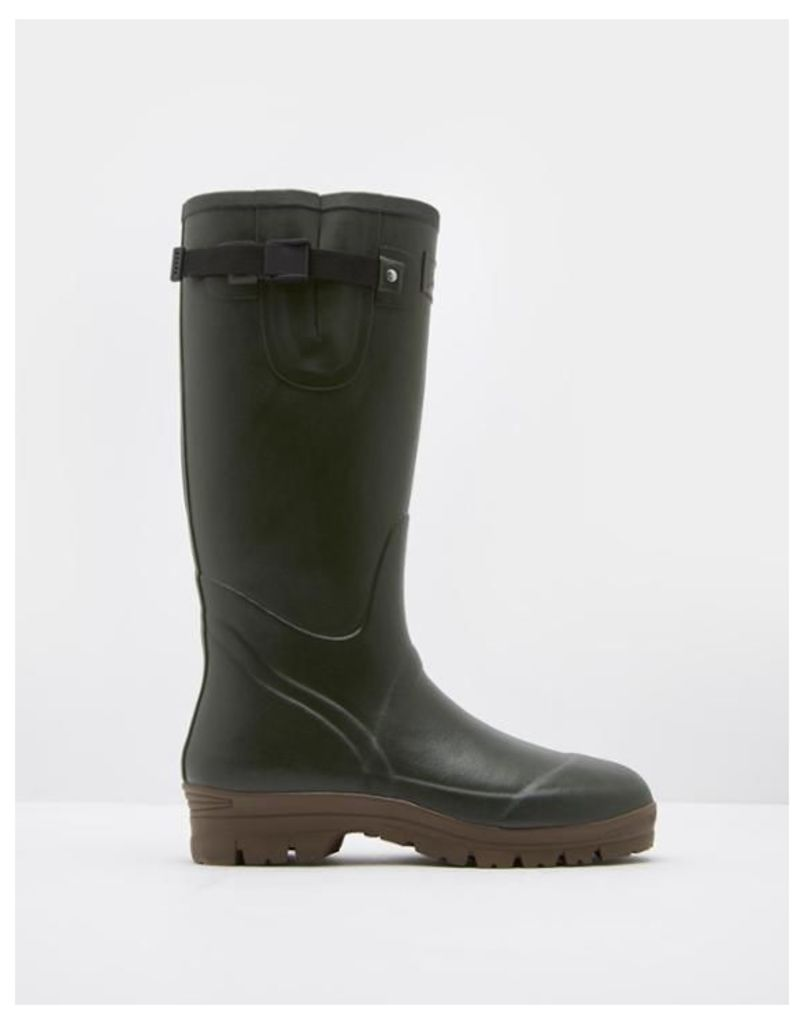 Green Neoprene Wellies  Size Adult 10 | Joules UK