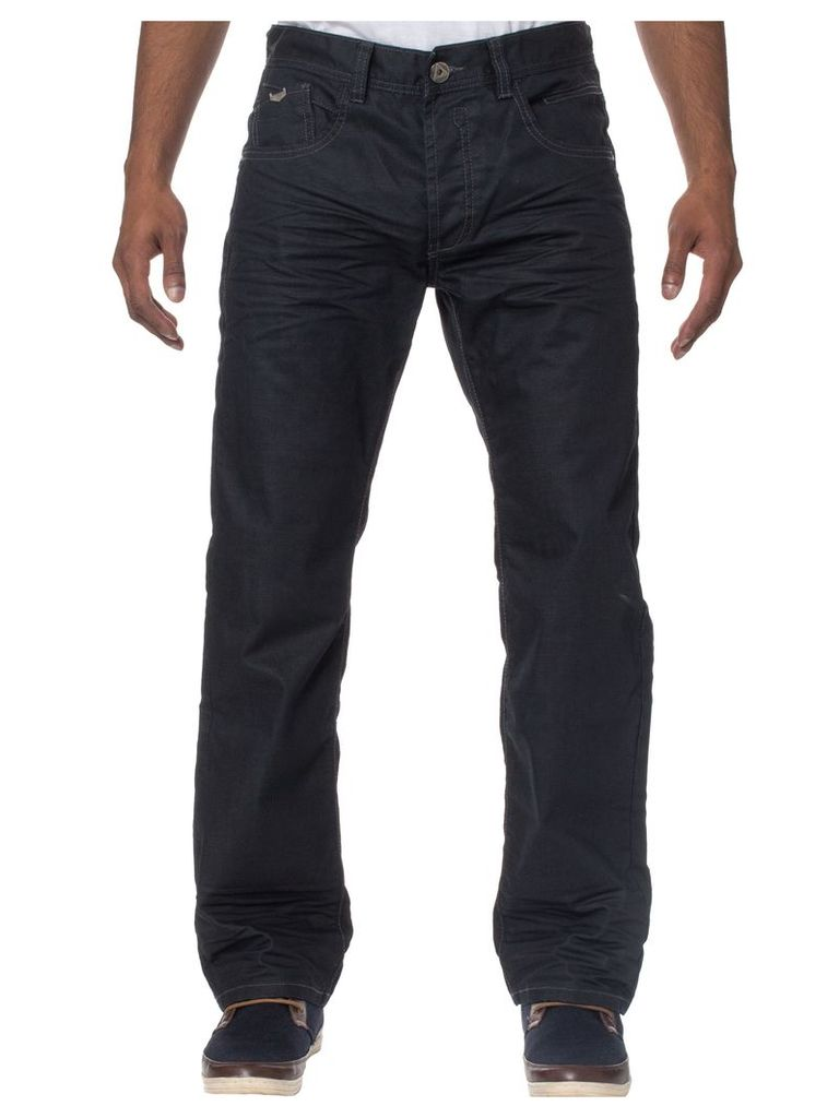 Mens Loose Fit Black Jeans