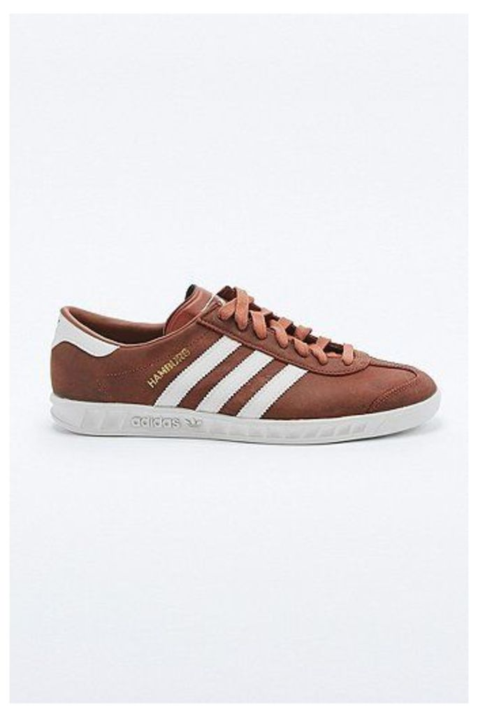 adidas Hamburg Redwood Trainers, Red