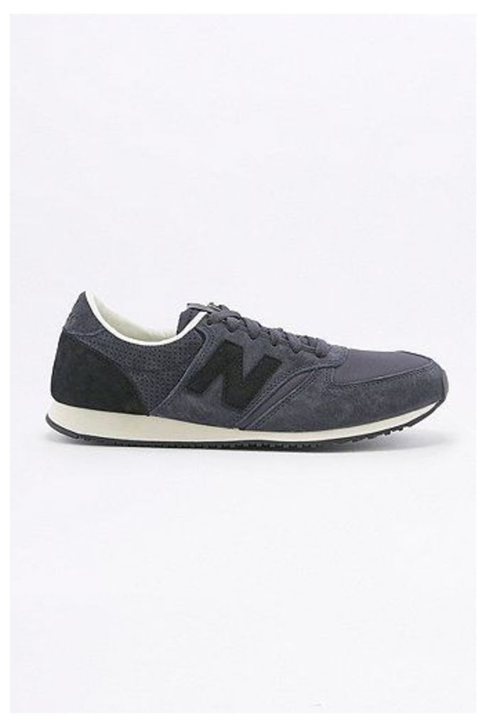 New Balance 420 Ripstop Navy and Black Trainers, Navy
