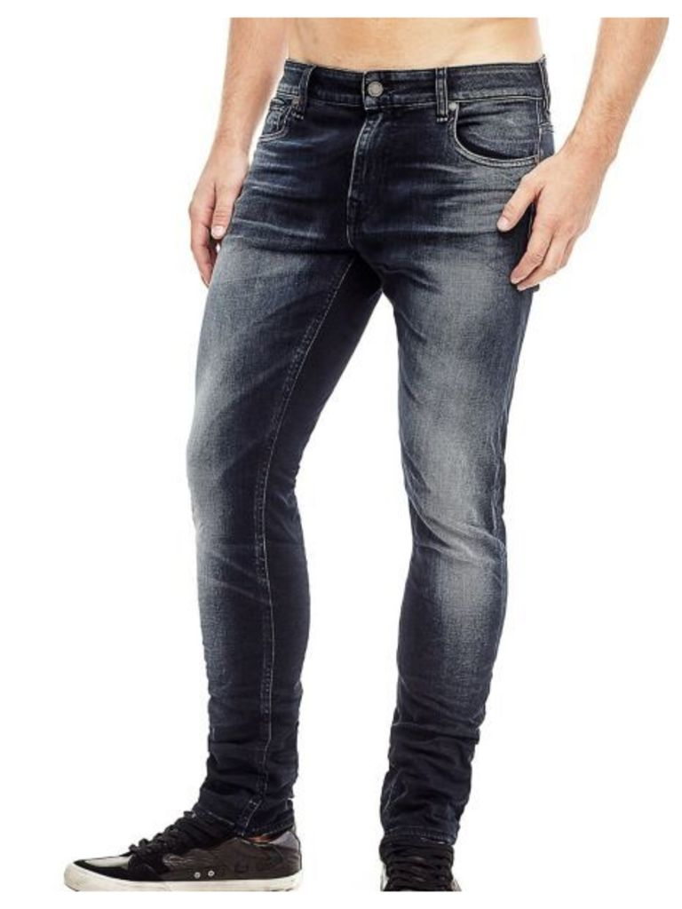 Guess Used-Look Super-Skinny Jeans