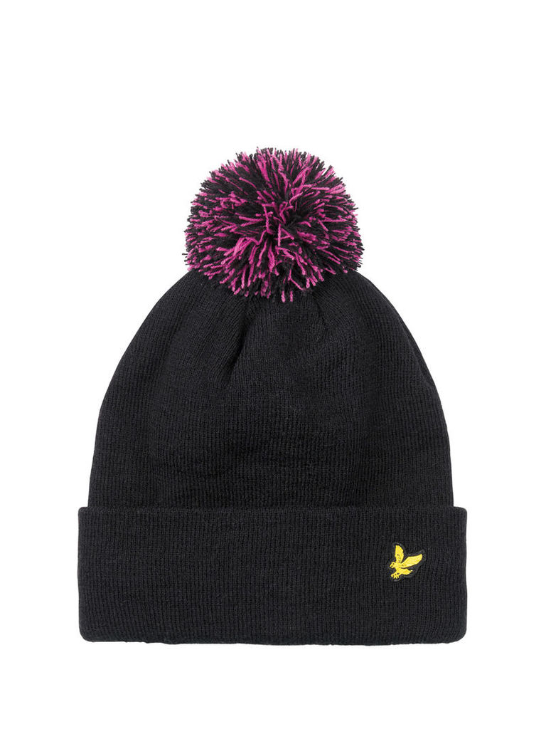GLASHAN Fleece lined Bobble Hat