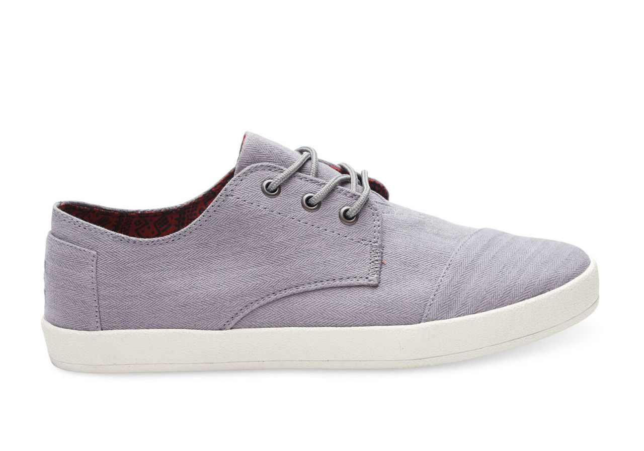 Frost Grey Herringbone Men's Paseos