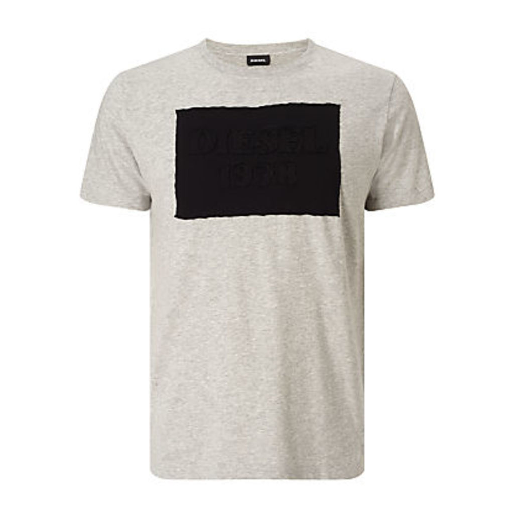Diesel T-Joe-HN Applique Logo T-Shirt