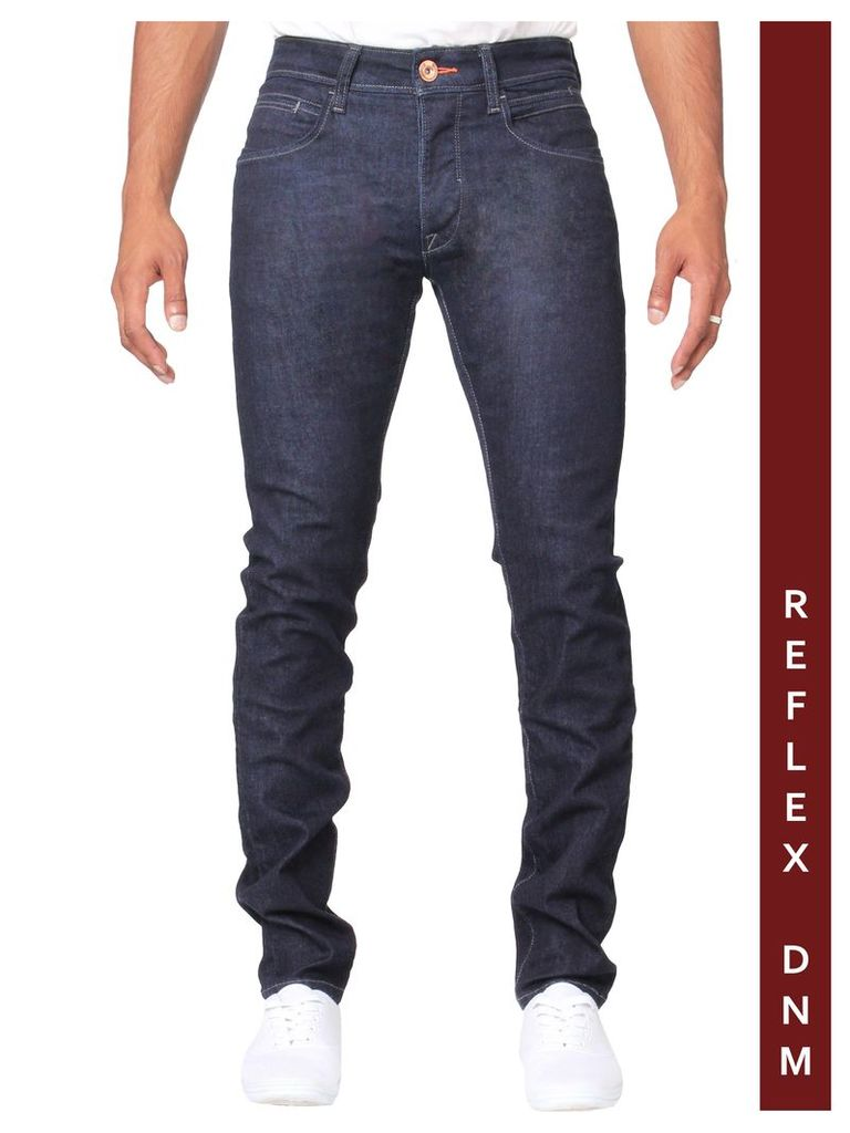 MENS REFLEX SUPER SKINNY DENIM RAW JEANS