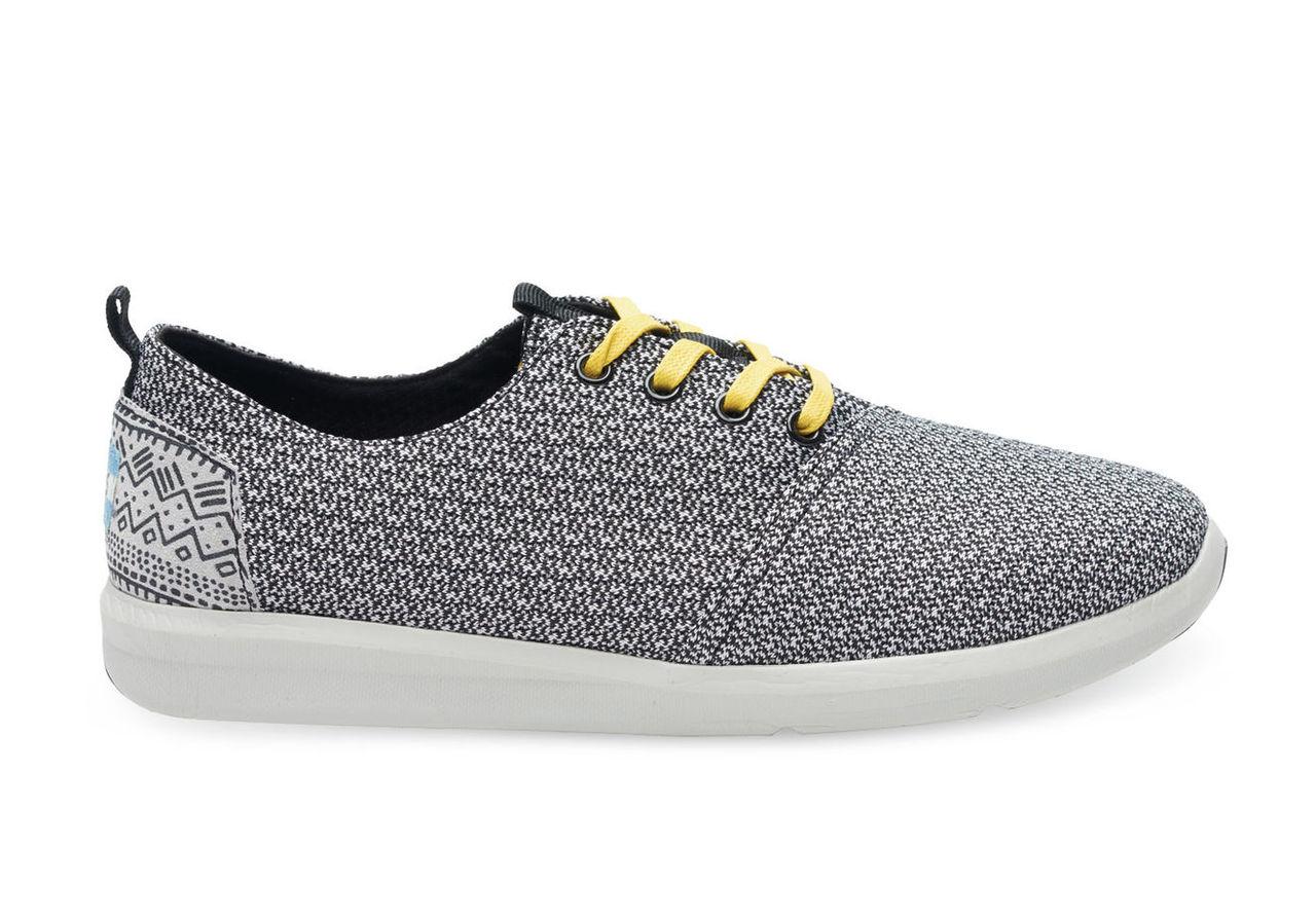 Black Grey Mesh Men's Del Rey Sneakers