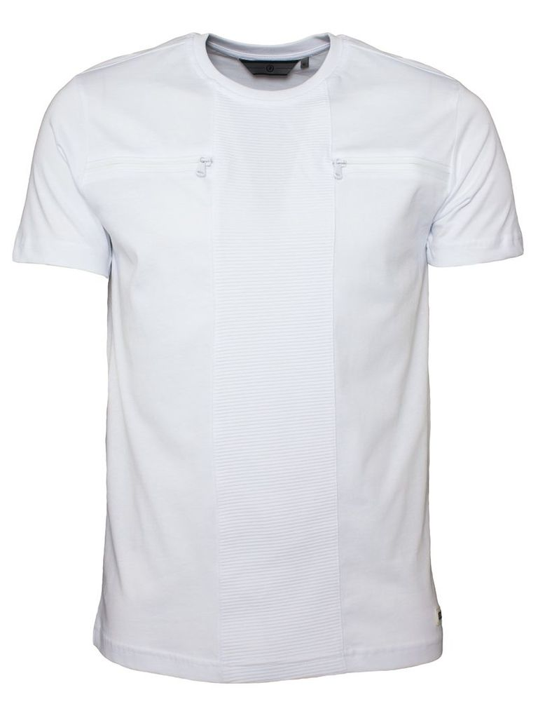 Mens White T-shirt Style Quest