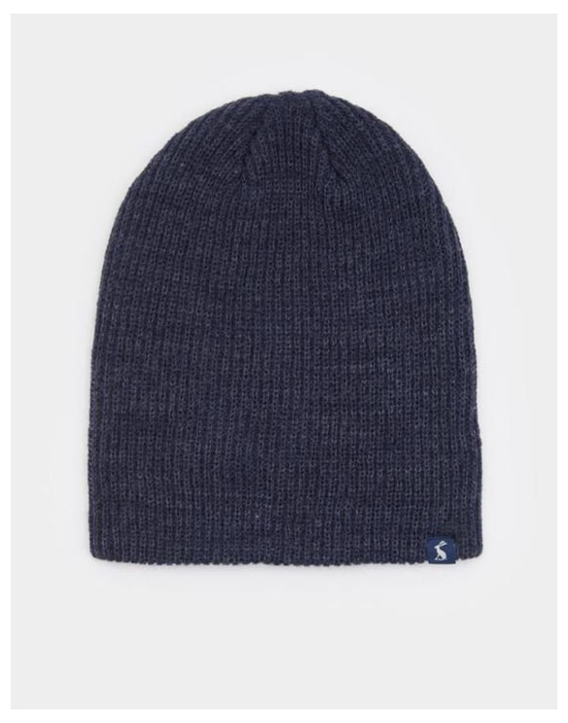 French Navy Retreat Knitted Hat  Size One Size   Joules UK