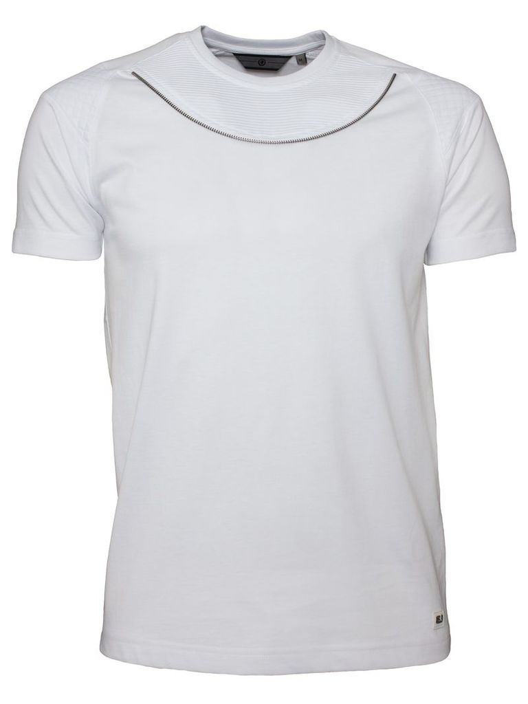 Mens White T-shirt Style Mayhem