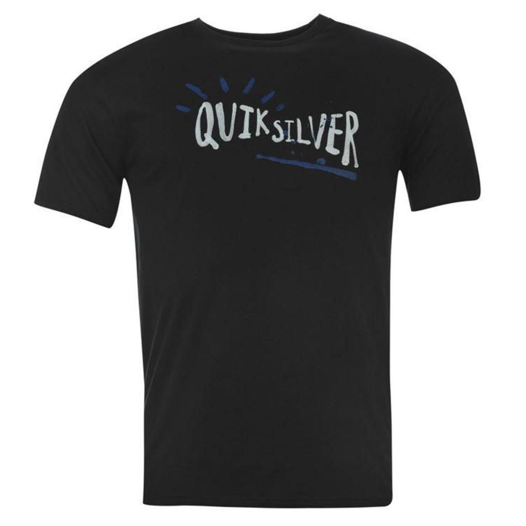 Quiksilver Enjoy Work T Shirt Mens