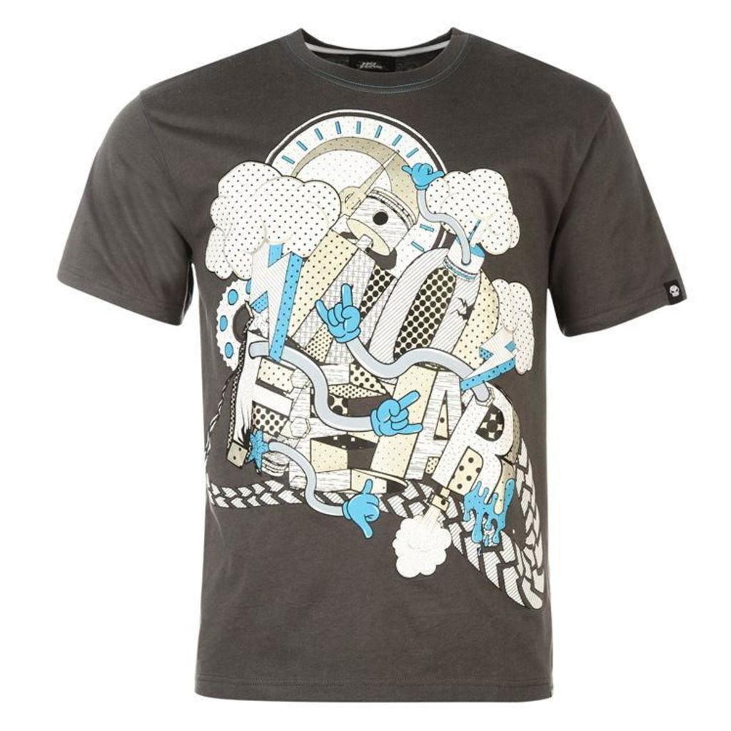 No Moto Graphic T Shirt Mens